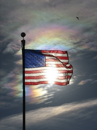 American Flag Photo by Andrew Kirk