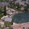 Agnew Lake dam