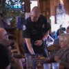 Like this past benefit dinner, Mammoth Police Officers will serve diners Monday evening at the Rafters in Mammoth Lakes.