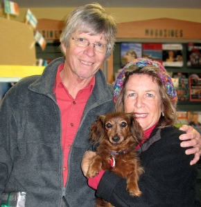 Dennis and Ann Wagoner with Missy, 11 years old.