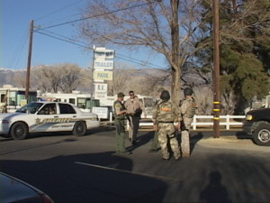 On February 17, the Inyo SWAT Team surrounded Patzkowski's home and finally forced him out.