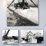 LA Aqueduct Exhibt dredge ice