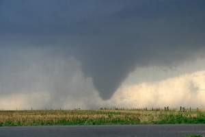 Extreme weather events are named as possible results of climate change.