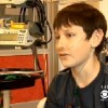 Evan Podsiad, 13, interviewed on CBS News Los Angeles.