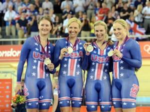 Dotsie Bausch is second from left.