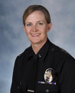 Sheriff-elect Ingrid Braun