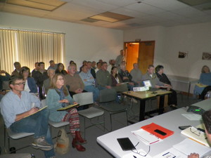 High public interest in tule-ridden river.