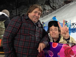 The Greg Bretz(es) Greesh and Bubba at Sochi halfpipe