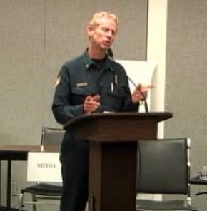 Mammoth Fire Division Chief Thom Heller