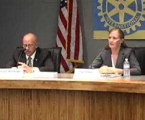 Sheriff Ralph Obenberger, Candidate Ingrid Braun