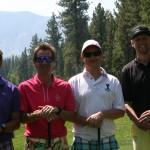 2013 winning team of Ian Birrell, Guy Bien, Christian Newman, and Ryan Clark.