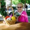 October 18 basket winner - Betty Frampton of Bishop.
