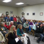 Packed Room for BOS Decision on Adventure Trails Pilot Project. Meeting delayed and will be renotices and rescheduled.-SW