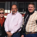 Pictured is the 2015 slate of Executive Officers of the Fair Board, 2nd Vice President Joanne Parsons, President Paul Dostie and 1st Vice President Rob Levy.
