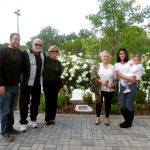 L-R: The family of Clara Armstrong: grandson Danny Parsons, son-in-law Chuck Parsons, daughters Marjorie Parsons and Marilyn Jackson, granddaughter-in-law Arlene Parsons and great-granddaughter, Savannah Parsons. Photo courtesy Northern Inyo Hospital