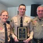 Mono County Sheriff's Office Sheriff Ingrid Braun, Deputy Wes Hoskin and Undersheriff Michael Moriarty