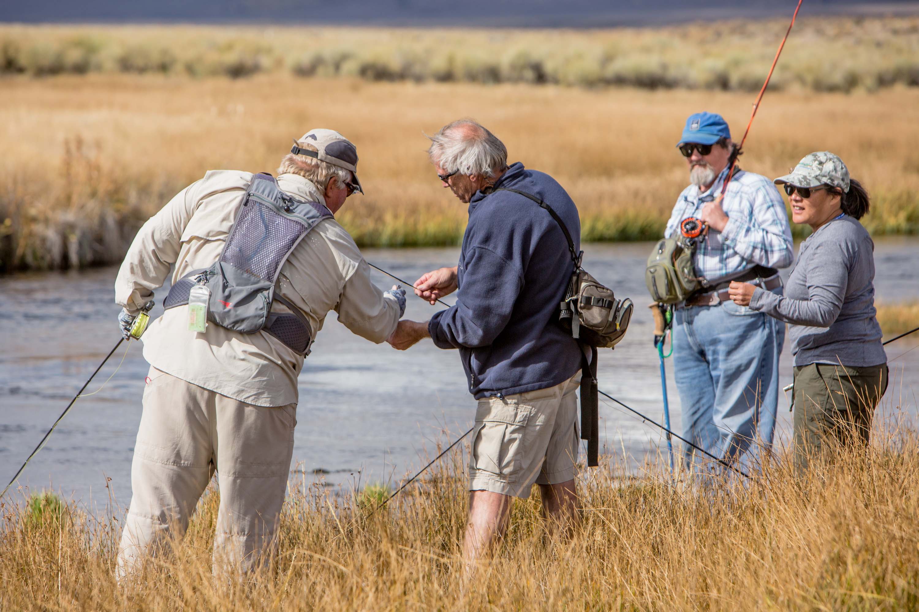 39 thanks 39 from fly fishing faire organizers sierra wave for Sierra fish in english