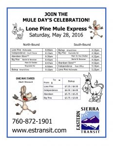 Mule Days LP EXP Flyer