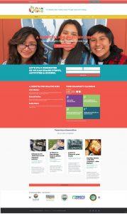 Team Inyo Press Kit - Screenshot of website