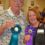 Dick Buhler Peoples Choice and Laura Diko Best of Show