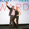 John Urdi, MLT Executive Director and Whitney Lennon, MLT Marketing Director receiving the U.S. Travel Association Destiny Award.