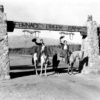 Furnace Creek Ranch Managers Carl and Bess Erskine took care of the Death Valley visitors for a number of the years in the 1930s and '40s, courtesy ECM
