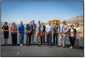 State Route 14 gets first part of Freeman Gulch project - Sierra