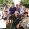 Back Row: Teachers Carmen London, Becky Rosen, Rotarian Patricia Ellis, and Teacher Meghan Avila  Front : Rotarians DeEtte Johnson, Randy Van Tassell and Charlie Waldriff/Photo courtesy of Pat Nahin